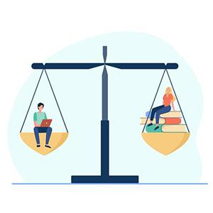 رعایت اصول و تعادل در مشاوره درسی